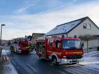 In Alme kam es am Samstag zu einem Rußbrand.