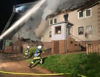 Der 30-jährige Angeklagte soll im Mai 2018 ein Wohnhaus mit Scheune am Netzer Glucksberg angezündet haben.