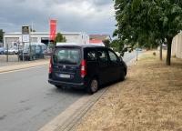 Am 25. August kam es in Frankenberg zu einer Kollision zwischen einem Pkw und einer Fußgängerin.