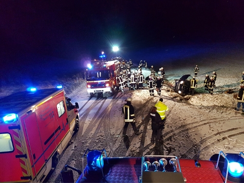 Zwischen Rösenbeck und Messinghausen ereignete sich am Mittwoch ein Unfall.