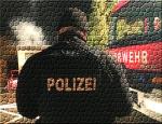 Polizei, Feuerwehr, Rettungsdienst und ein Schornsteinfegermeister waren am 3. Oktober 2020 in Thalitter im Einsatz.