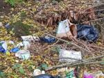 In der Feldgemarkung Hillershausen wurde erneut Müll entsorgt.