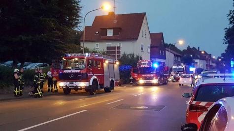 Kräfte der Freiwilligen Feuerwehr Korbach  waren am 25. Juni in der Heerstraße im Einsatz.