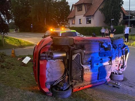 In Gemünden (Landkreis Waldeck-Franklenberg) ereignete sich am Abend des 4. Juli 2020 ein Alleinunfall.