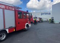 Am 7. September brannte Müll im Schacht einer Papierfabrik in Rhoden.