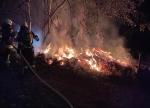 Am 21. August mussten die Feuerwehren der Nationalparkgemeinde Vöhl einen Waldbrand löschen.