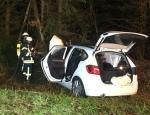 Am 13. Januar 2020 verunglückte eine Frau aus dem Landkreis Marbung-Biedenkopf mit ihrem BMW auf der Bundesstraße 252 zwischen Bottendorf und Ernsthausen.