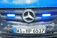 Am 17. Februar musste die Bundesstraße 253 aufgrund von Straßenglätte und einem Unfall voll gesperrt werden.