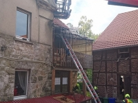 Die Korbacher Feuerwehr wurde am Montag in den Nordwall alarmiert.