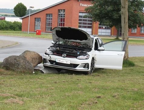 In Höxter lieferten sich zwei Personen ein illegales Autorennen.