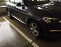 Am 28. Januar 2020 wurde ein BMW X3 beschädigt.