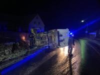 In Freienhagen verunfallte am Montagabend ein Sprinter.
