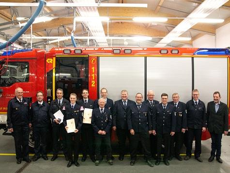 In Adorf standen dieses Jahr Wahlen bei der Feuerwehr auf dem Plan.