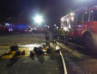 In Kassel ereignete sich am Samstag ein Brand in einer Tiefgarage.