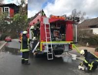 Einen Laubenbrand in Bad Arolsen musste die Freiwillige Feuerwehr am 5. März bekämpfen.