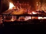 Ein Großbrand im Lichtenfelser Ortsteil Sachsenberg ereignete sich am Abend des 14. April 2020