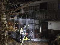 Die Freiwillige Feuerwehr Frankenberg war am 27. Oktober im Einsatz.
