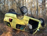 In den frühen Morgenstunden des 23. März ereignete sich ein Alleinunfall auf der Landesstraße zwischen Somplar und Frankenberg.