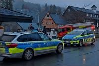 Ein Großaufgebot war in Elkeringhausen vor Ort, um nach dem vermissten Mädchen zu suchen.