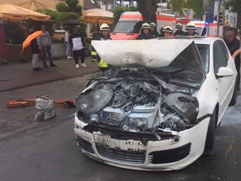 Am 28. Mai kam es in Bad Arolsen zu einem Auffahrunfall mit drei beteiligten Fahrzeugen.