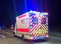 Mit dem Rettungswagen wurde die 20-Jährige am 7. Oktober 2020 nach Fritzlar ins Krankenhaus transportiert.