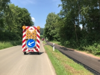 Die Fahrbahnsanierung der Landesstraße 3080 zwischen Wetterburg und Volkmarsen konnte vollendet werden.